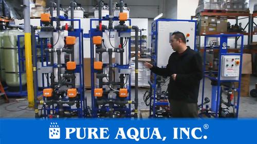 Sistema de Ultrafiltración para Tratamiento de Aguas Pluviales 20 GPM