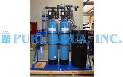 Sistema de Intercambio de Ion de Eliminación de Nitrato 10 GPM   Texas, EE.UU