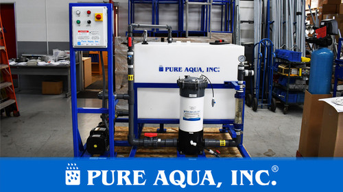 Sistema de ósmosis inversa de desalinización en contenedores