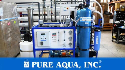 Sistema de Ósmosis Inversa Comercial para Agua de Ma