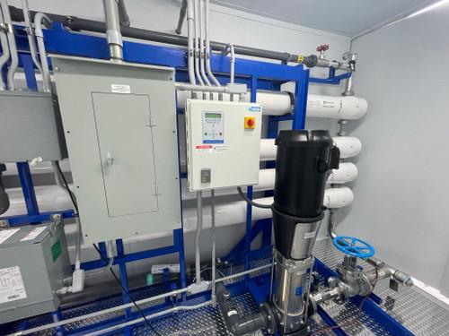 Planta de tratamiento de agua en contenedores