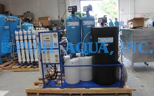Máquina Ósmosis Inversa Montado en Plataforma 9,000 GPD - Venezuela