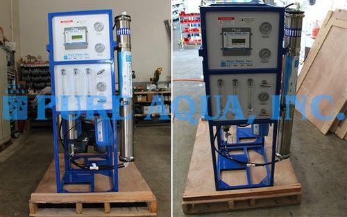 Unidad Comercial Ósmosis Inversa para Agua Salobre 2x 1,500 GPD - Polonia