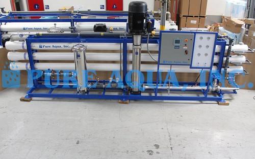 Máquina de Ósmosis Inversa para Agua Altamente Salobre 130,000 GPD - Yemen