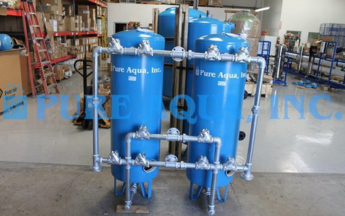 Equipo de Filtración de Agua 46,000 GPD - Kuwait