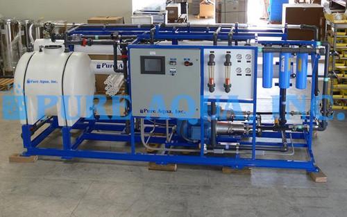 Sistema de Ósmosis Inversa para Agua de Mar 31,000 GPD - Arabia Saudita