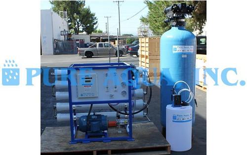 Equipo Comercial Ósmosis Inversa para Agua de Mar 5,500 GPD - México