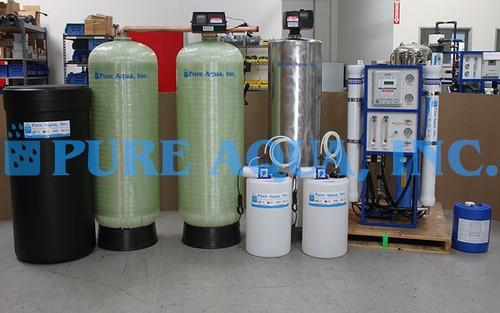 Sistema de Ósmosis Inversa para Agua Salobre 12,000 GPD - Jordania