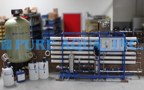 Paquete Comercial de Ósmosis Inversa 27,000 GPD - Jordania