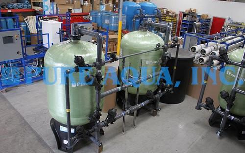 Planta de Filtración de Agua 120 GPM - Ghana