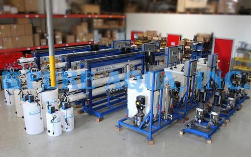 Plantas Industriales Osmosis Inversa para Agua Salobre 3 x 126,816 GPD - Egipto