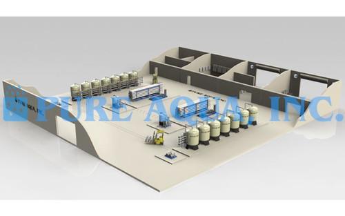 Planta de Tratamiento de Agua de Mar 1.4 million GPD - Peru