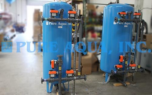 Unidades Comerciales de Filtración Multimedia 1 x 32 GPM y 1 x 50 GPM - Kuwait