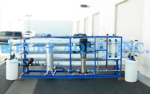 Sistema de Ósmosis Inversa Industrial para Agua Salobre 100 GPM - Estados Unidos de América
