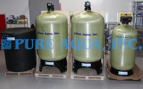 Sistema Suavizador de Agua 14,000 GPD - Estados Unidos de América