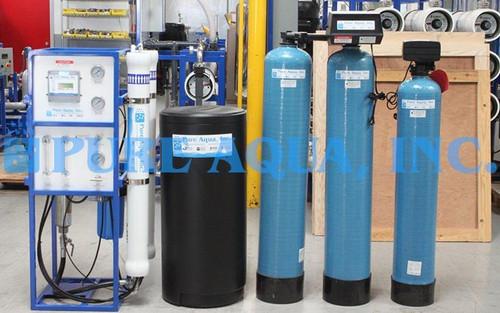 Sistema de Ósmosis Inversa para Agua Salobre 3,000 GPD - Jordania