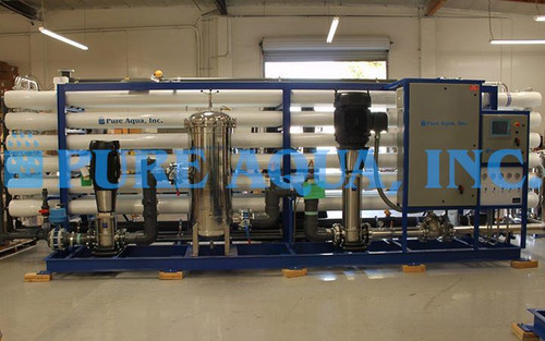 Sistema Ósmosis Inversa para Agua Salobre 2 x 864,000 GPD - Canadá