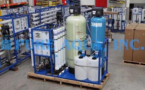Sistema de Ósmosis Inversa para Agua Salobre en Montado en Estructura 15,000 GPD - Estados Unidos de América