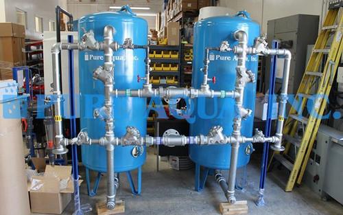 Suavizador de Agua Duplex para 70,000 GPD - Kuwait