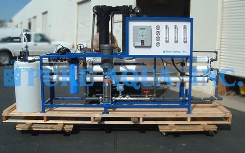 Sistema de Ósmosis Inversa de Agua Salobre Con Pre & Postratamiento 18,000 GPD - El Salvador
