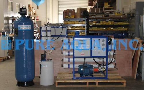 Sistema de ÓI de Agua de Mar 4700 GPD - Rusia