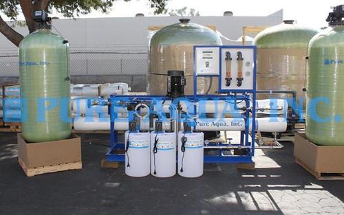 Sistema de Ósmosis Inversa Industrial para 3x 43,000 GPD - Egipto