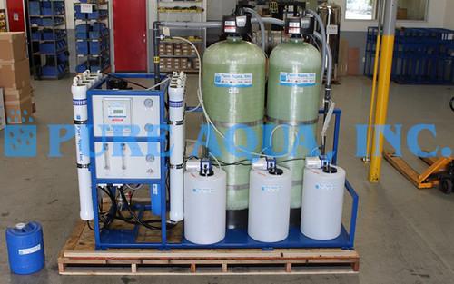 Sistema Ósmosis Inversa Para Agua de Grifo Montado en Estructura 15,000 GPD - Argelia