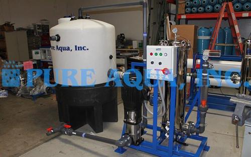 Sistema de Limpieza de Membranas en Estructura 172,800 GPD - Puerto Rico