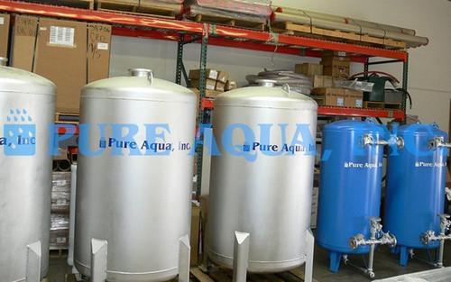 Unidad de Filtración Multimedia de Acero Inoxidable 110,000 GPD - Emiratos Árabes Unidos