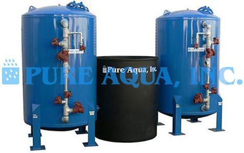 Suavizador de Agua Twin Alternado 235,000 GPD - República Dominicana