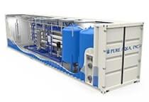 Sistema de Tratamiento de Agua en Contenedores, Industrial & Comercial