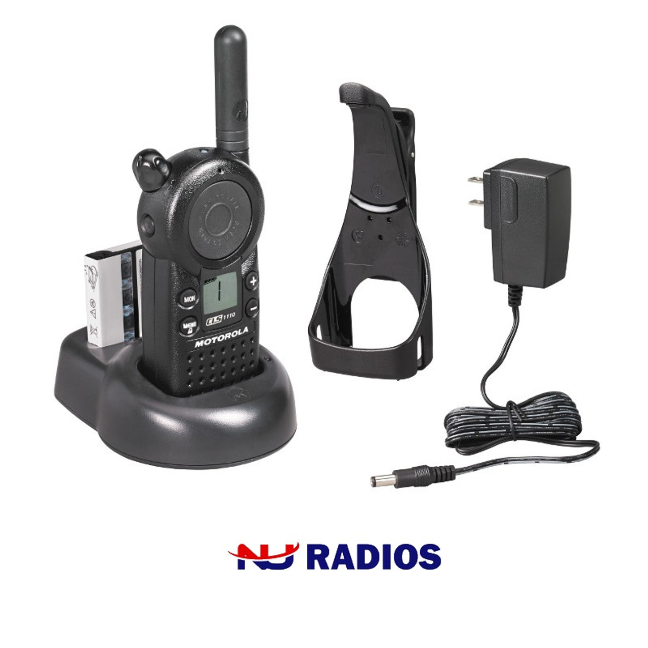 Set of Motorola CLS1110 Two Way Radio Chargers In Excellent Conditions