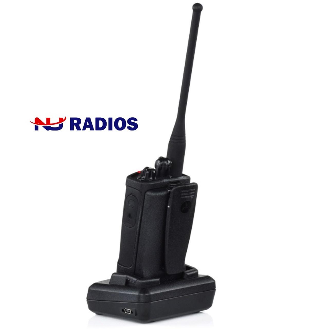 Motorola RDU4100 UHF 4W 10CH Two Way Radio Six Pack