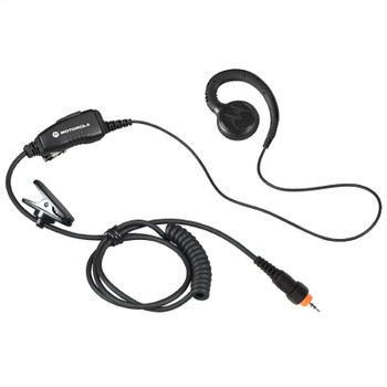 A compact and lightweight communications earpiece designed for use with CLP series radios. It has an inline PTT microphone that clips to your clothing for convenient use. Fits CLP-1010 and CLP-1040 radios only.