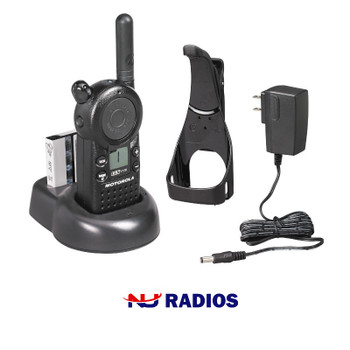 The CLS1110 two way radio operates on 56 different business exclusive frequencies and feature 121 codes, which means you can rely on getting a clear signal every time. This package comes with everything you need to get started.