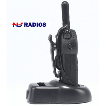 The CLS1410 with VibraCall is a two way radio that operates on 56 different business exclusive frequencies and feature 121 codes, which means you can rely on getting a clear signal every time. This is a 4 Channel model.