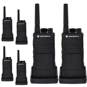 Buy Motorola RMU2040 (6 Pack) Two Way Radio - Walkie Talkie 20 Floor Indoor Range with fast shipping and top-rated customer service.