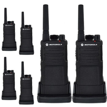 Buy Motorola RMU2040 (6 Pack) Two Way Radio - Walkie Talkie 20 Floor Indoor Range with fast shipping and top-rated customer service.