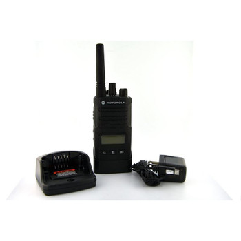 RMU2080d with built in Display is an On-Site Two Way Business Radio from Motorola is designed to provide secure workplace communication in environments up to 250,000 square feet or 20 floors of office, hotel or construction sites.