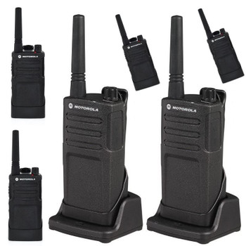 This Six Pack of RMM2050 radios operate on 5 MURS business exclusive frequencies and is FCC license free. Enhanced audio quality, a rugged design and ease of use, makea this radio an exceptional choice for all of your on-site business needs.