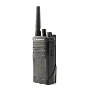 RMV2080 Two-way Radio is a 8-channel, 2 watt, VHF radio that operates on 27 VHF business-exclusive frequencies. Features customized channel including NOAA Weather Alerts and this radio works great outdoors.