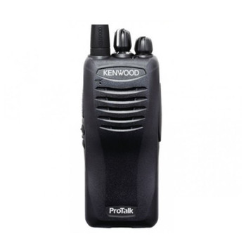 Kenwood TK-3400U4P two way radio offers 4 channels, 2 watts of power and coverage for up to 250,000 square feet, 20 floors, or up to 6 miles