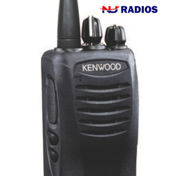 This Kenwood with 2 Watts is powerful. The  TK-3400U4P ProTalk two-way business portable radio with 4 channels, is ideal for communications in construction, manufacturing, retail, movie theaters and grocery stores.