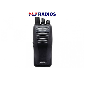 Kenwood TK-3402U16P two way radio offers 16 channels, has 5 watts of power and coverage for up to 330,000 square feet, 30 floors, or up to 7 miles.