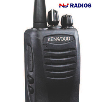 Kenwood TK-2400V16P two way radio offers 16 channels, 2 watts of power and coverage for up to 220,000 square feet, 13 floors, or up to 6 miles
