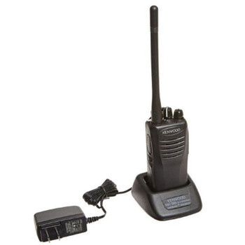 """Kenwood TK-2400V4P ProTalk Radio has been improved to offer a larger VHF """"bank"""" of frequencies, and improved louder sound with more output."""