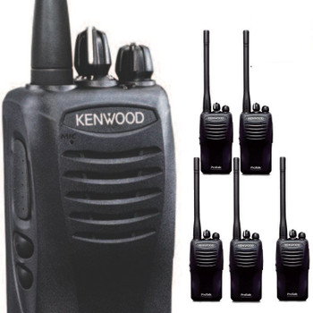 Kenwood TK-2402V16P ProTalk Radio has been improved to offer a louder sound with more output. These two-way Kenwood radios are the superior choice for retail, warehouse and construction environments.
