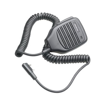 Kenwood KMC-21 Compact Speaker Microphone plugs directly into a Protalk radio and offers clear sound.  Best for your handheld radio needs whether it's construction, public service, retail or warehouse.  This 2-Pin Speaker Mic is great for light and medium duty use.