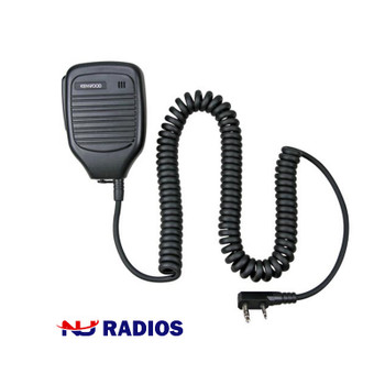 Kenwood KMC-21 Light to Medium Duty Compact speaker microphone with 2.5mm listen only port for available earbuds (not included). Works with Kenwood ProTalk TK2400, TK2402, TK3230, TK3400, TK3402, NX240 and NX340 series radios.