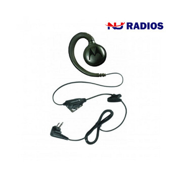 Motorola HKLN4604A Flexible Swivel Earpiece. Provides all-day comfort and wear. Designed for retail applications; Small, lightweight and durable.